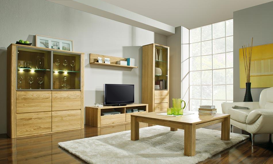 Collection meuble de salon en bois massif