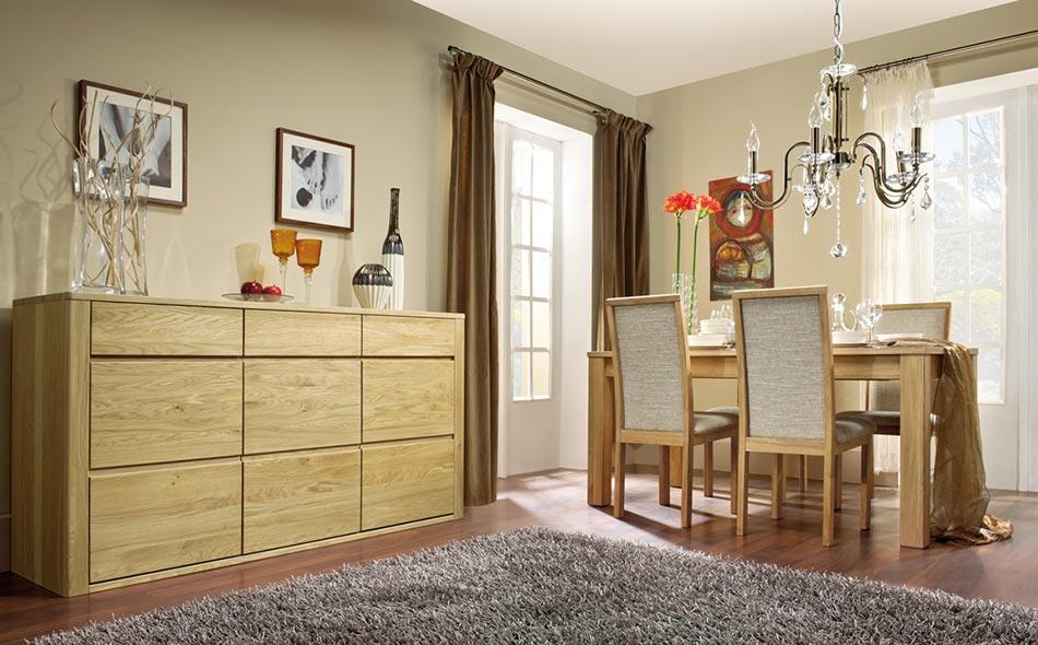 Salon moderne en bois massif collection Urban