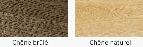 Finition meuble chêne brûlé ou naturel