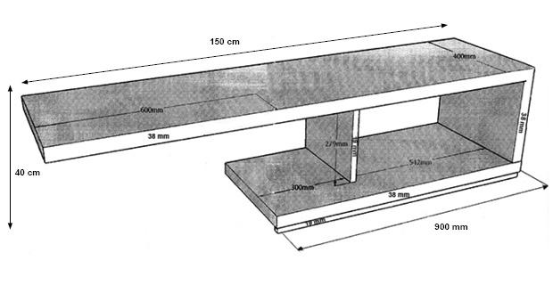 dimensions module miles