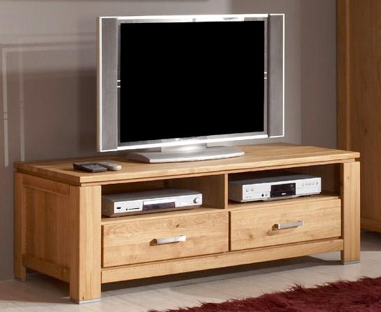 Meuble tv haut de gamme en chêne massif