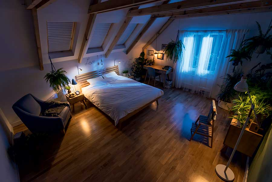 mobilier chambre nordique