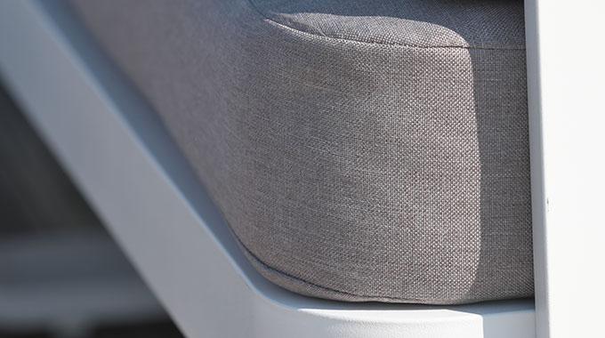 zoom tissu gris